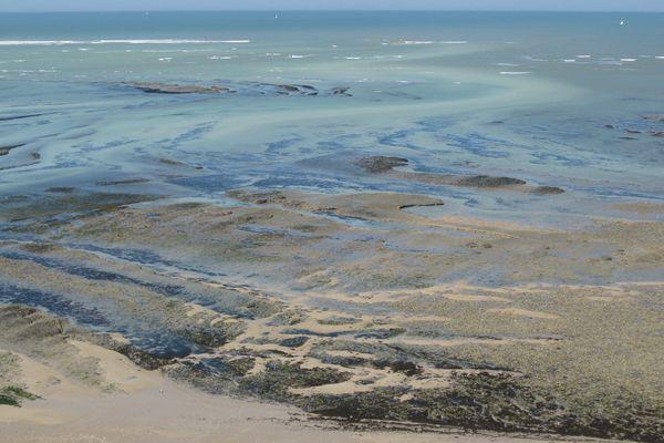 Vue panoramique du haut du phare des Baleines