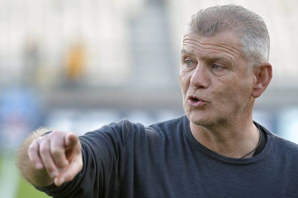"""L'entraîneur du Stade Malherbe Patrice Garande compte sur """"quelque chose d'un peu irrationnel"""" pour créer l'exploit."""