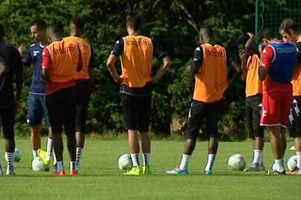 Les joueurs de l'US Orléans ont repris l'entraînement.
