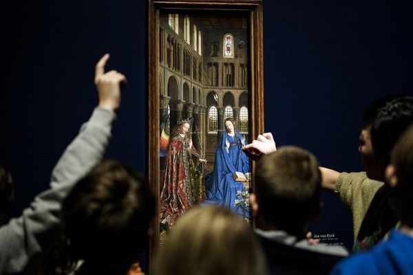 L'exposition van Eyck à Gand.
