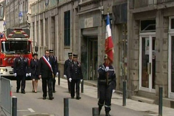 Plusieurs centaines de personnes avaient assisté aux obsèques de Christophe Chaussat.