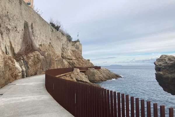 La promenade de l'Aldilonda a été officiellement ouverte au public ce mercredi 23 décembre.