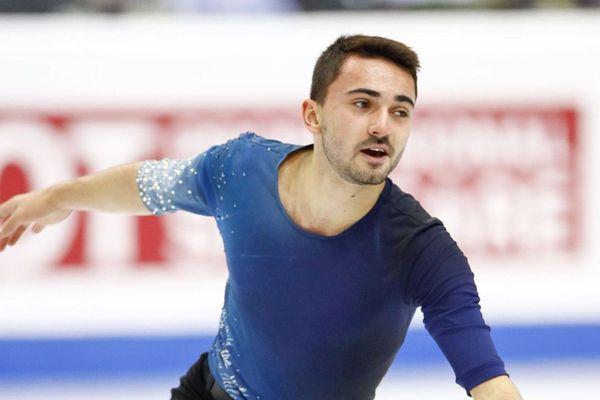 Kévin Aymoz, en décembre dernier lors du Grand Prix de Turin
