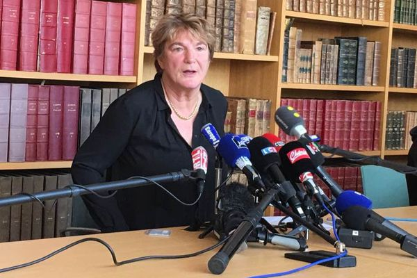 Edwige Roux Morizot, procureure de la République de Besançon.