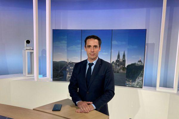 Jean-Baptiste Djebbari, ministre chargé des Transports, était l'invité de France 3 Auvergne lundi 5 octobre.