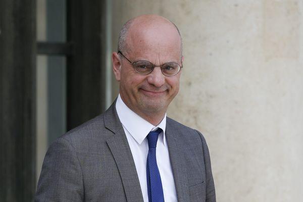 Jean-Michel Blanquer à la sortie du conseil des ministres le 22 mai 2019.