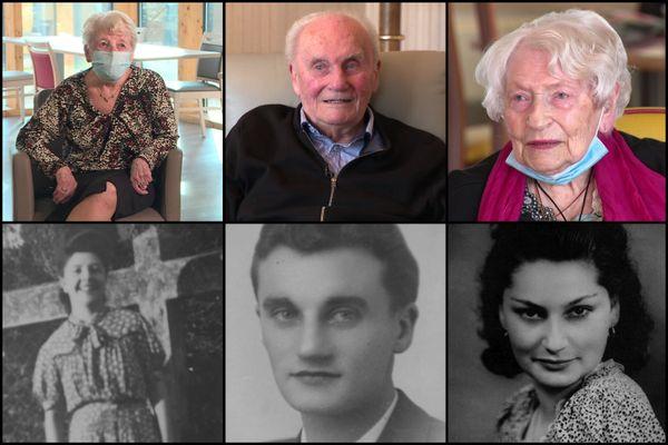Jeanine, Gabriel et Suzanne sont tous trois centenaires.