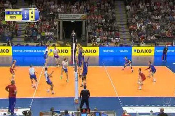 La finale France-Russie