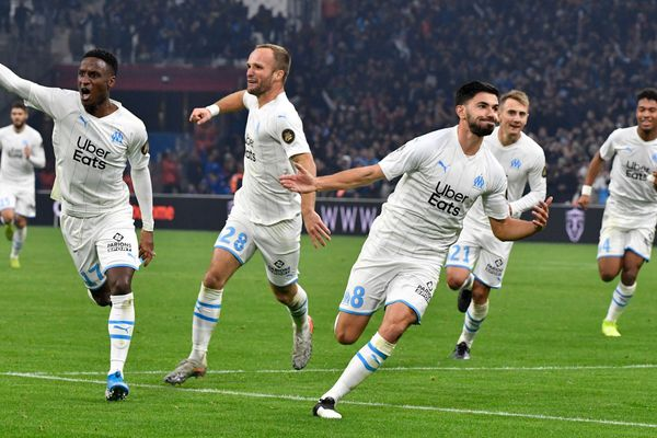 09/12/2019 - L1: Marseille renverse Bordeaux (3-1) et repousse le 3e Lille à 6 points