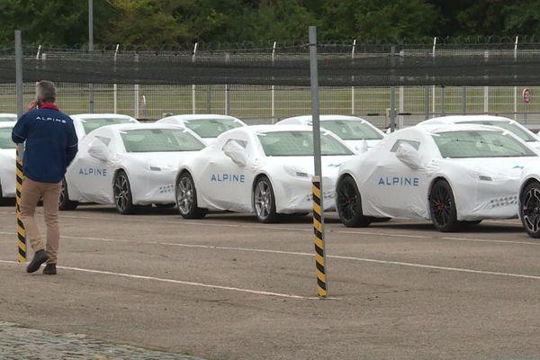 L'usine Alpine-Renault de Dieppe en 2020.