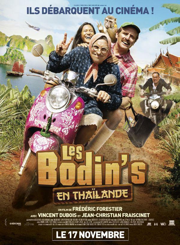 Affiche Les Bodin's en Thaïlande