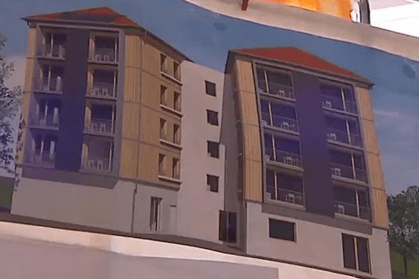 Le projet d'immeuble coopératif pour seniors à Vaulx-en-Velin