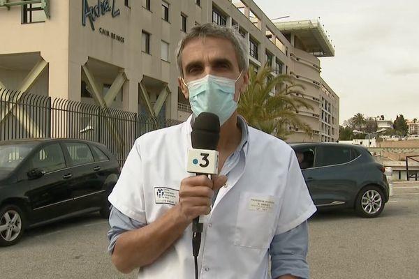 Michel Carles est chef du service infectiologie au CHU de Nice.