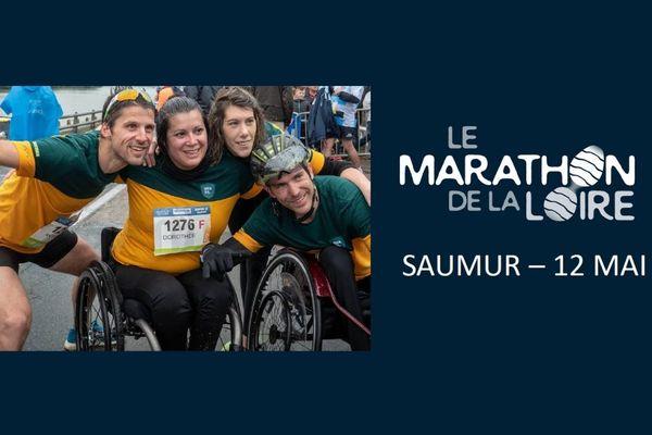 Le Handisport à l'honneur au Marathon de la Loire avec l'Association Handi'Namique