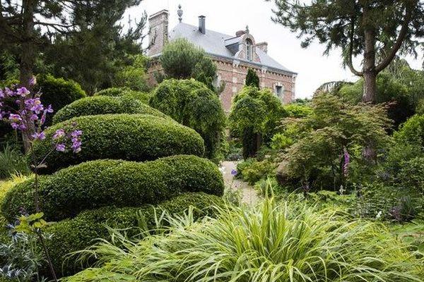 Les jardins Agapanthe sont situés à Grigneuseville, en Seine-Maritime.