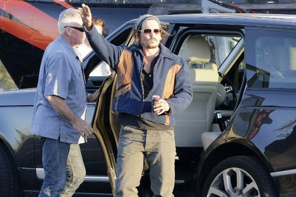 L'acteur Johnny Depp en Australie le 4 juin dernier.