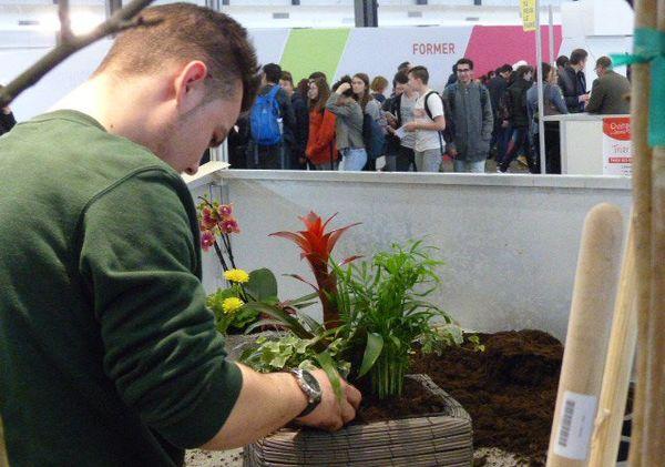 Atelier horticulture, l'art des fleurs