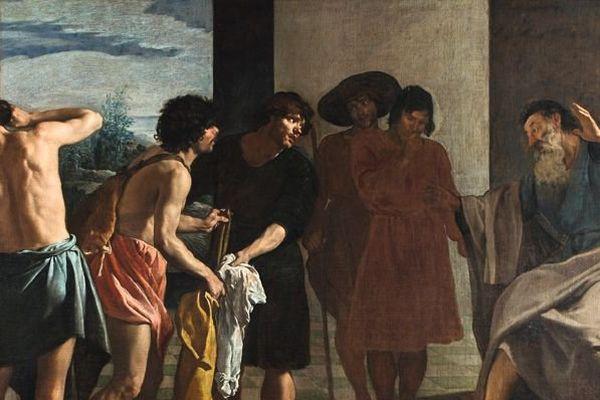 La tunique de Joseph vers 1630 huile sur toile, 213,5 x 284 cm Madrid, Real Monasterio del Escorial