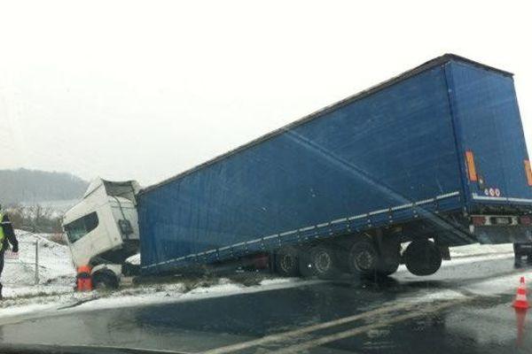Plusieurs accidents ont eu lieu mardi matin