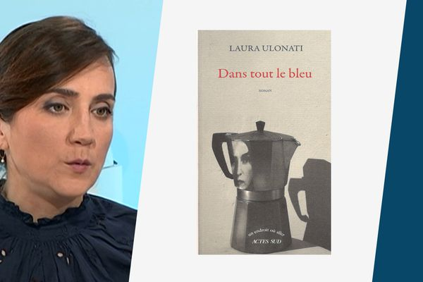 """La romancière Laura Ulonati publie un magnifique second roman intitulé """"Dans tout le bleu"""", dans lequel une jeune femme se plonge dans l'histoire de sa mère, immigrée italienne à Nice."""