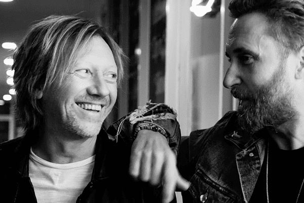 Fred Rister et David Guetta