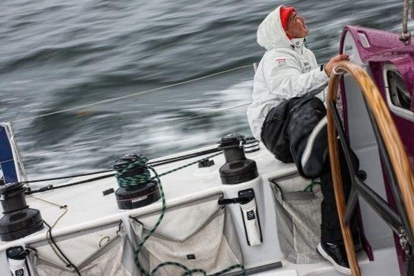 "Zbigniew ""Gutek"" Gutkowski à bord d'Energa"