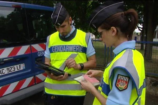 Magnolia est réserviste auprès de la gendarmerie du Mans.