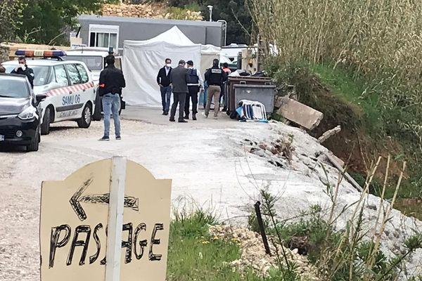 Un dépistage est organisé en urgence ce lundi dans un campement au bord de la Brague, à Antibes.