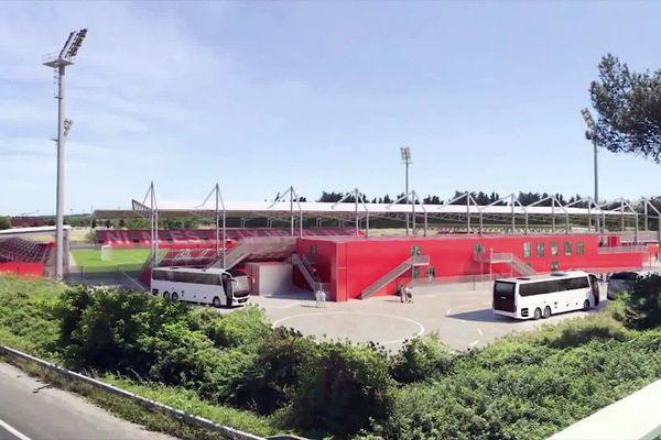 Nîmes : le projet de stade provisoire dès 2022 pour accueillir le Nîmes olympique.