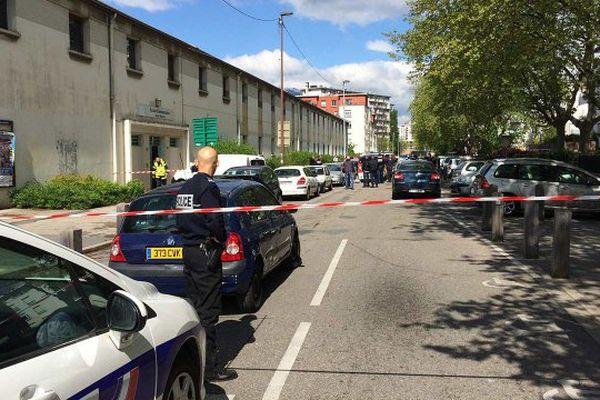 Fusillade dans le quartier de Teisseire à Grenoble, le 25 avril 2016