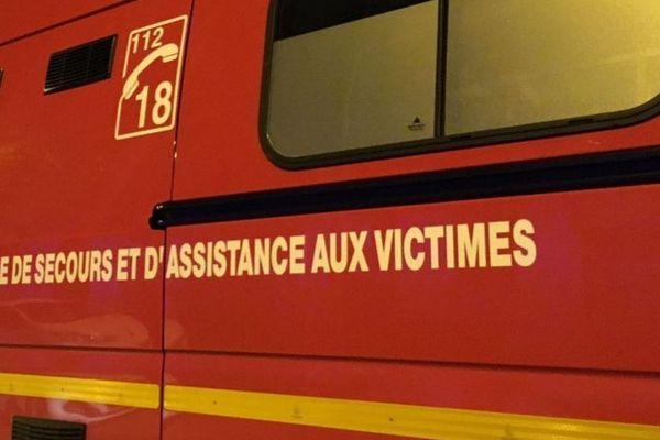 Les pompiers sont intervenus cette nuit à 4h30 du matin pour un accident de la route en plein centre de Lyon.