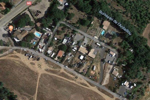 C'est dans ce campement situé chemin Cantagal qu'ont eu lieu les tirs mortels à Béziers.