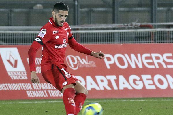 Yassine Benzia, le 8 février 2020.