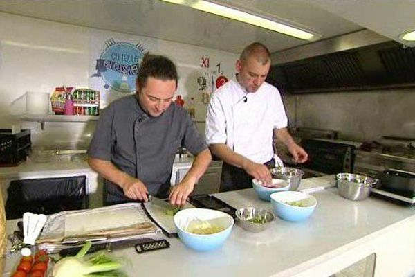 Romain Deplaine et Romain Tounissoux
