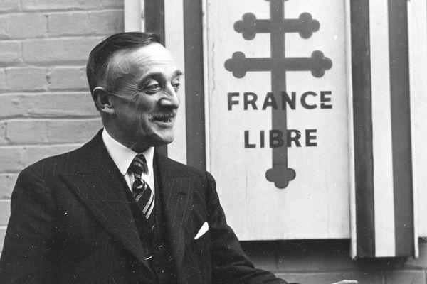 Henri Queuille, résistant aux-côtés de Charles de Gaulle.