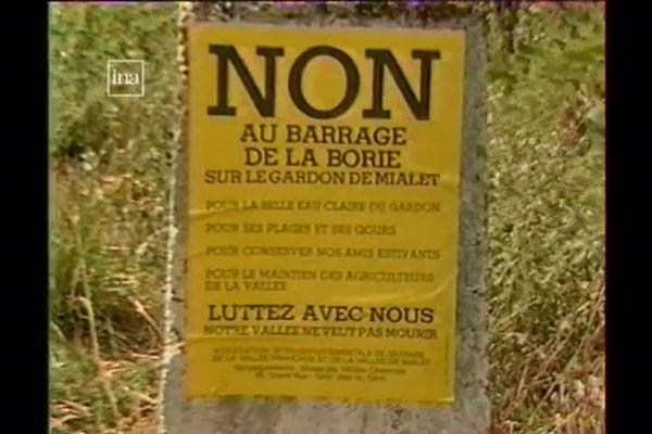 Le hameau de la Borie était occupé depuis les années 1990 (photo) par des militants écologistes opposés à un projet de barrage sur le gardon de Mialet.