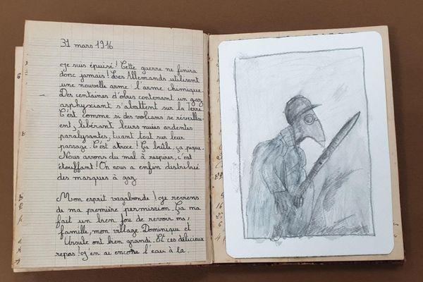 Durant un an, les élèves de CM2 de l'école U Principellu de Furiani se sont imprégnés de l'histoire de trois poilus de la Grande Guerre. Ils ont imaginé le carnet intime de l'un d'entre eux, Paul Marietti