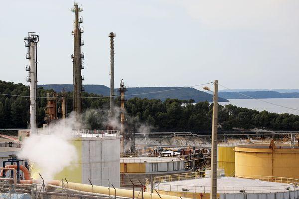 Le site de la bioraffinerie de Total à La Mède a démarré à produire de l'agrocarburant en juillet.