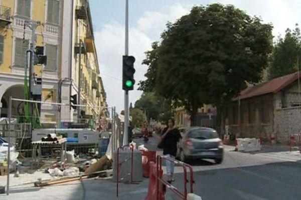 La rue Ségurane sera fermée à la circulation dès mercredi.