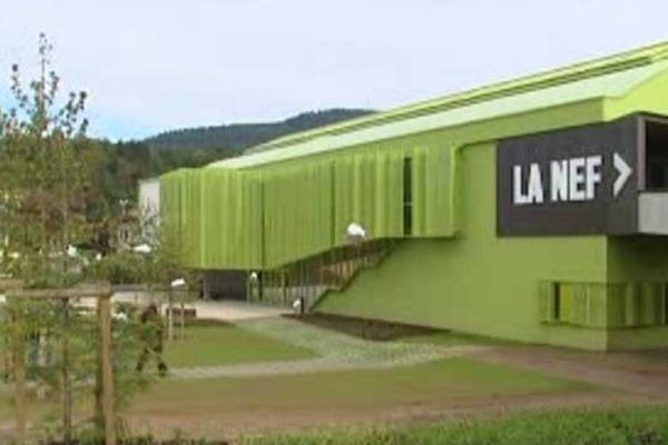 Le bâtiment de la Nef, à Saint-Dié-des-Vosges.