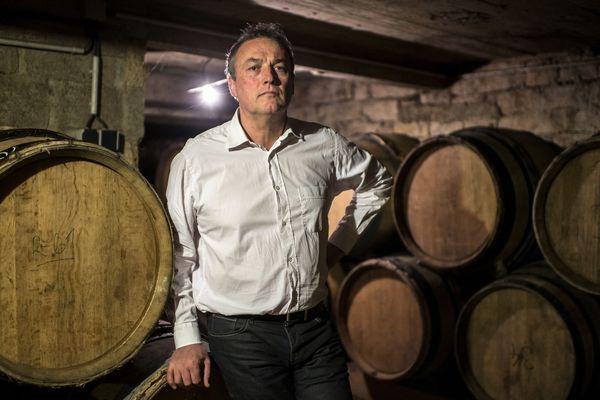 Le viticulteur Emmanuel GIboulot, en 2014.