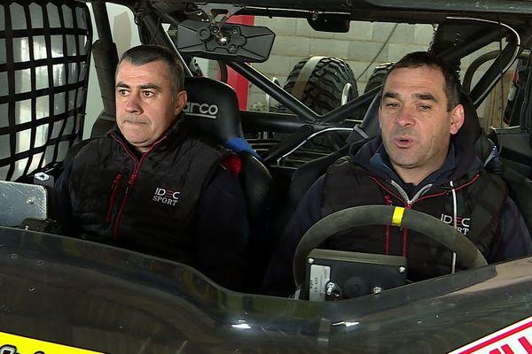 Philippe Champigné et Bruno Robin, les Deux-Séviens vont prendre le départ de l' Africa Race 2020.