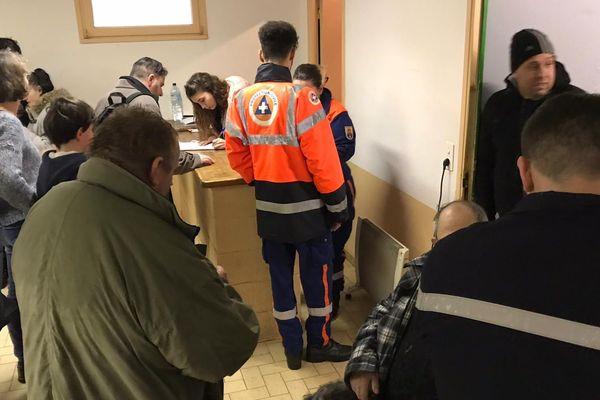 A Limoux, dans l'Aude, 34 personnes ont trouvé refuge dans un gymnase en début d'après-midi.