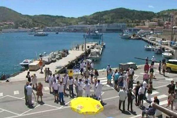 C'est à Port-Vendres à quelques kilomètres de la frontière espagnole que l'homme a été arrêté.