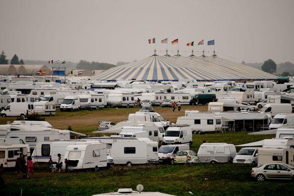 Le rassemblement Vie et Lumière de 2016 avait réuni quelque 30 000 caravanes