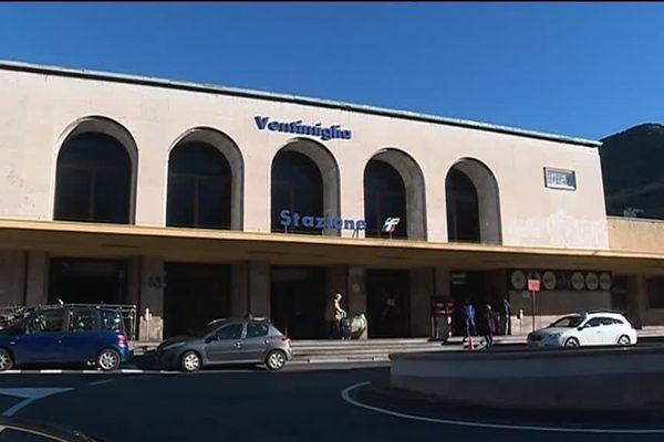 La gare de Vintimille, en ce mois de décembre 2018.
