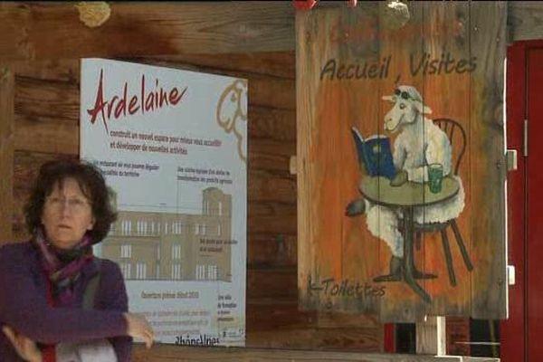 Une boutique, un restaurant, un café librairie attendent les 20.000 visiteurs chaque année
