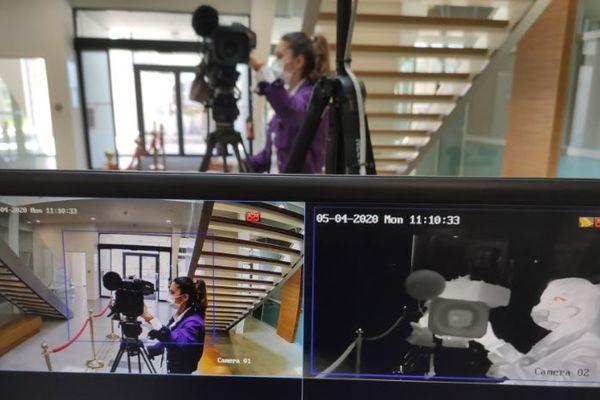 Pour lutter contre le Coronavirus, la mairie de Porticcio s'est dotée d'une caméra thermique.