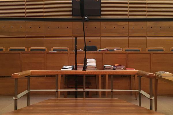 La cour d'assises des Bouches-du-Rhône, à Aix-en-Provence