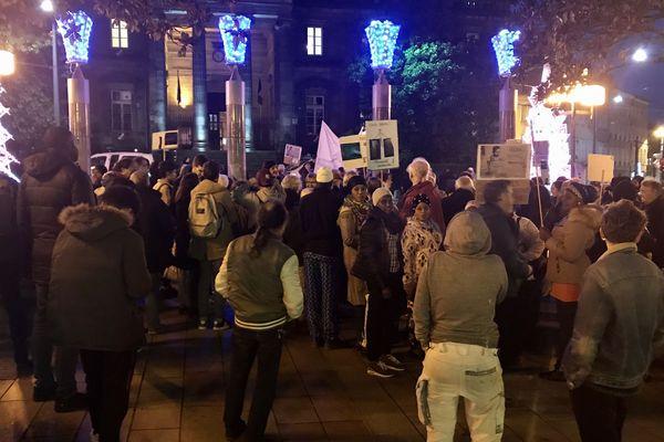 Une centaine de manifestants pour la Journée Internationale des migrants dans les rues de Limoges